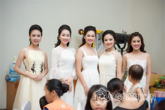 Hoa hậu Mỹ Linh dự tiệc trung thu 7