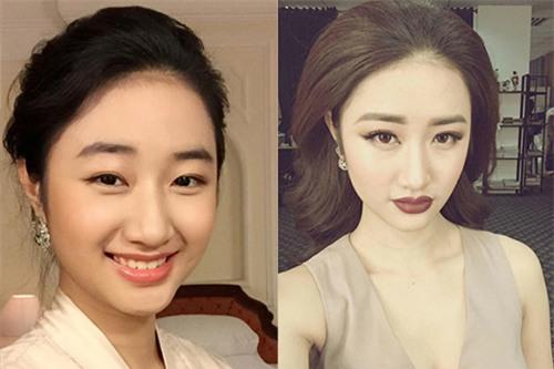 pham huong, ky duyen bien hoa chong mat khi doi cach make up - 3