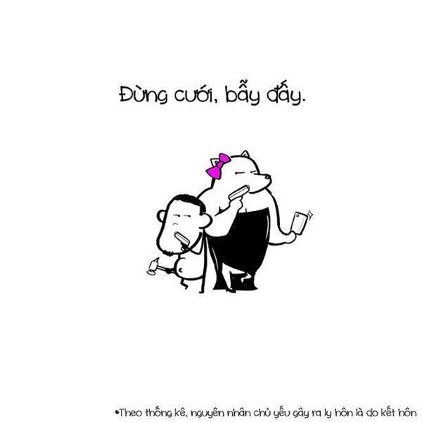 Đừng ngôn tình nữa cái máng lợn hôn nhân nào cũng giống nhau cả thôi