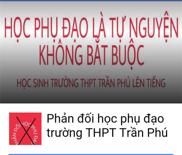 Hoc sinh Dak Lak lap Facebook phan doi hoc them hinh anh 1