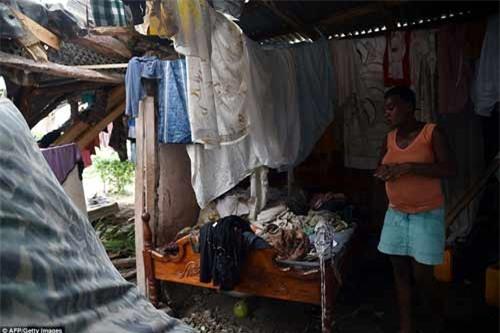 Cảnh hoang tàn và chết chóc ở Haiti sau cơn bão lịch sử Matthew - 15