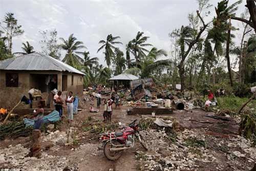 Cảnh hoang tàn và chết chóc ở Haiti sau cơn bão lịch sử Matthew - 19