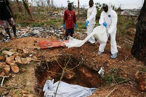 Cảnh hoang tàn và chết chóc ở Haiti sau cơn bão lịch sử Matthew - 3
