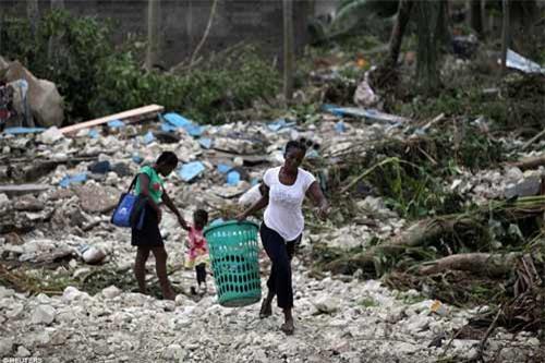 Cảnh hoang tàn và chết chóc ở Haiti sau cơn bão lịch sử Matthew - 5