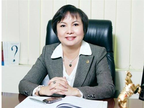 tài sản, 10 phụ nữ giàu nhất sàn chứng khoán Việt, Lê Thị Ngọc Diệp, Tập đoàn FLC, Ngọc Lan, Bầu Kiên, ái nữ