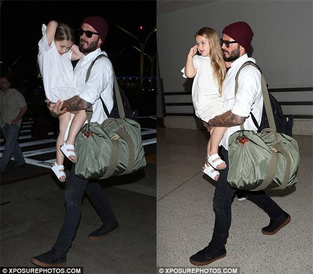 Ngày nào còn bé tí, Harper Beckham giờ đã 5 tuổi và ngày càng xinh xắn - Ảnh 2.