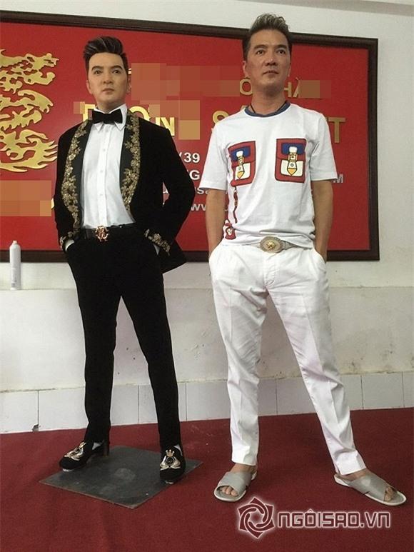 Tượng sáp sao Việt 1