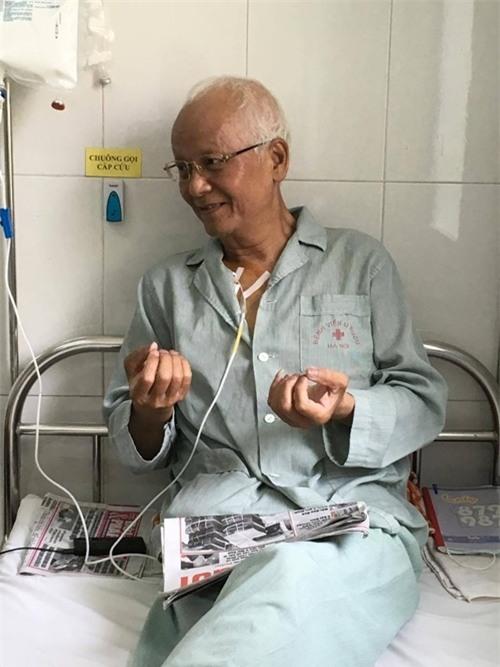 Ung thư giai đoạn cuối, diễn viên Duy Thanh bị bệnh viện trả về - Ảnh 2.