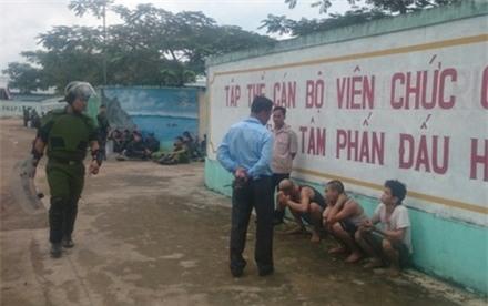 Đã bắt hơn 30 học viên cai nghiện đập phá trại, trốn ra ngoài - Ảnh 1.