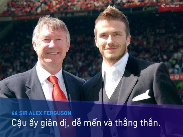 Beckham không trở thành huyền thoại nhờ vẻ ngoài soái ca - Ảnh 2.