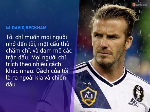 Beckham không trở thành huyền thoại nhờ vẻ ngoài soái ca - Ảnh 3.