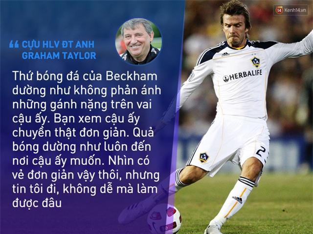 Beckham không trở thành huyền thoại nhờ vẻ ngoài soái ca - Ảnh 7.