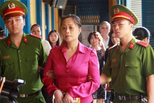 Bị cáo Tuyết Nga tại phiên tòa sơ thẩm
