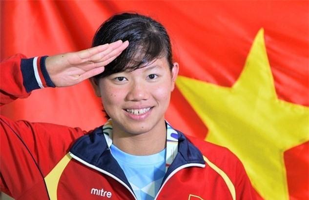 Ánh Viên tiếp tục mang về vinh quang cho bơi Việt Nam. Ảnh: Hoàng Hà.