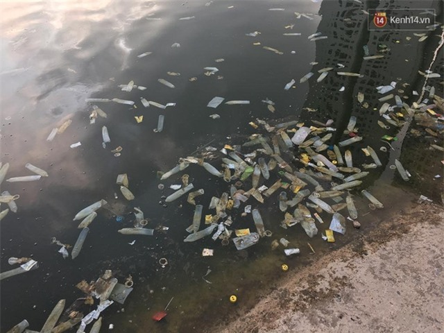 """Ông Tây chụp ảnh bao cao su ngập hồ Linh Đàm: """"Thấy tôi quay phim nhiều người đã chửi"""" - Ảnh 1."""