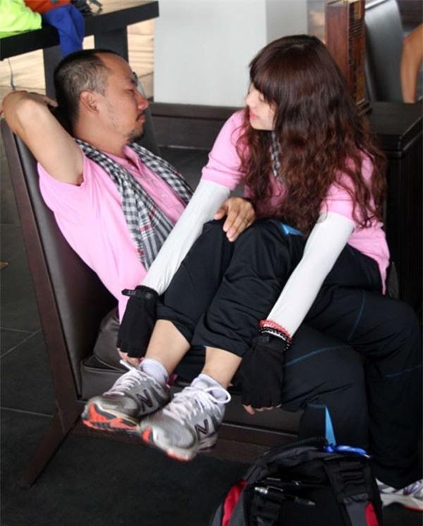 Khoảng thời gian tham gia Cuộc đua kì thú, Hari Won và Tiến Đạt