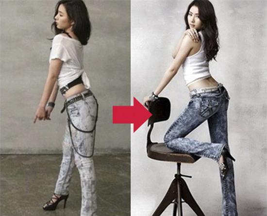 Xem Photoshop đã giúp sao Hàn vịt hoá thiên nga như thế nào - Ảnh 1.