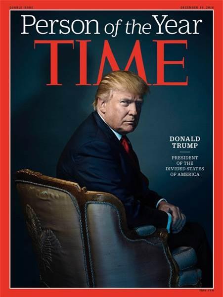 Chân dung của Tổng thống đắc cử Mỹ Donald Trump sẽ được làm ảnh bìa của Time vào tuần tới. (Ảnh: Today)
