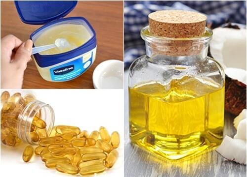Kết quả hình ảnh cho vitamin E và vaseline
