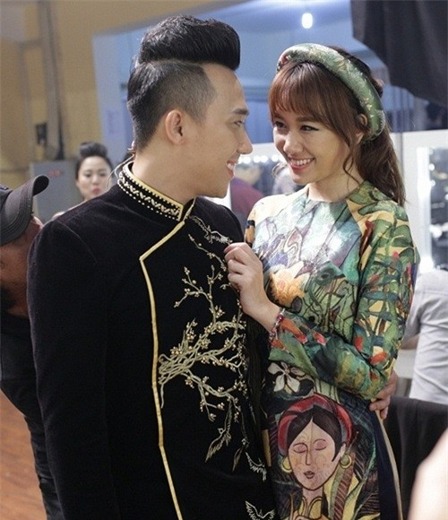 Chia tay Tiến Đạt, Hari Won hẹn hò với Trấn Thành.