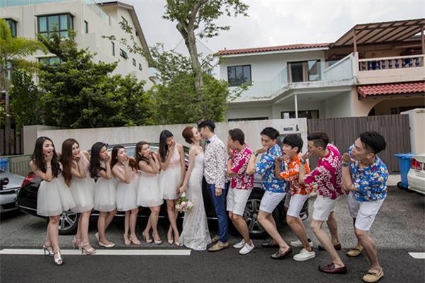 Cô dâu Việt chi gần 2 tỷ đồng bao trọn thủy cung lớn nhất thế giới làm đám cưới - Ảnh 8.