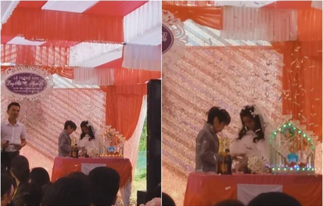 Đám cưới Bạch tuyết và chú lùn ở Hà Tĩnh gây xôn xao - Ảnh 3.