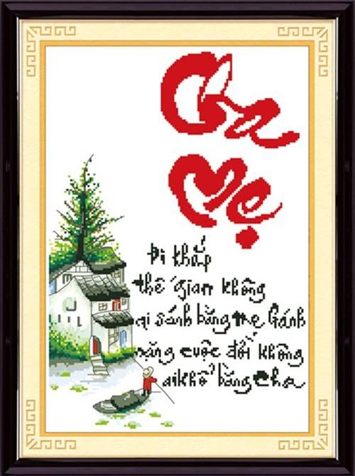 4 loai tranh theu chu thap don tet can luu y  khi treo keo ruoc hoa vao than - 4