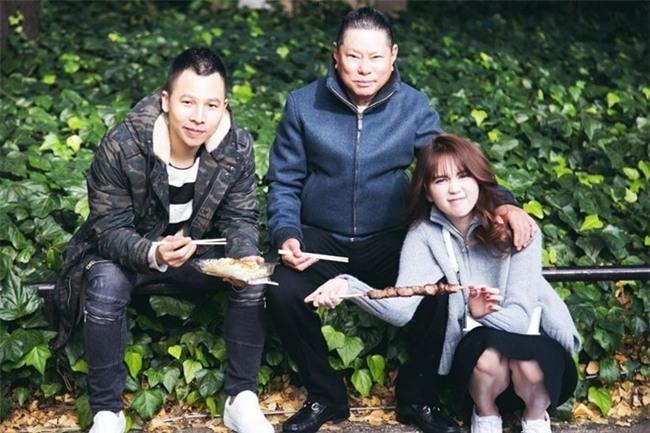 Con dau Hoang Kieu: 'Vo chong toi lam moi cha va Ngoc Trinh' hinh anh 3