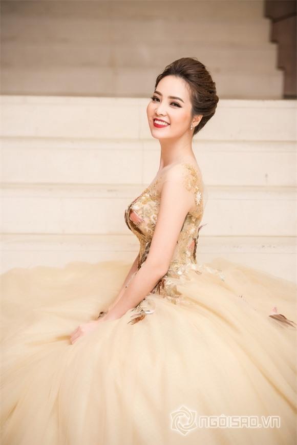 Á hậu Thụy Vân như công chúa 5