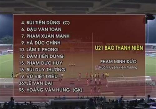 U21 Viet Nam 0-0 U21 Thai Lan (H1): Tran Thanh du bi hinh anh 1