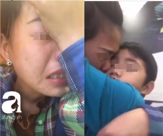 Vợ khóc nấc livestream nói con trai 6 tuổi bị chồng cũ và mẹ chồng đuổi ra đường - Ảnh 3.