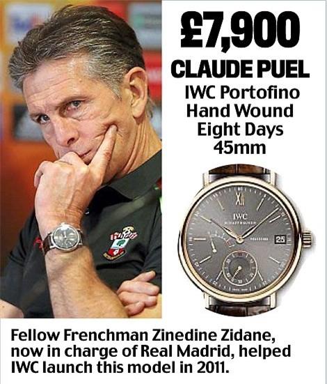 Khám phá đồng hồ đeo tay của HLV Ngoại hạng Anh - Ảnh 10.