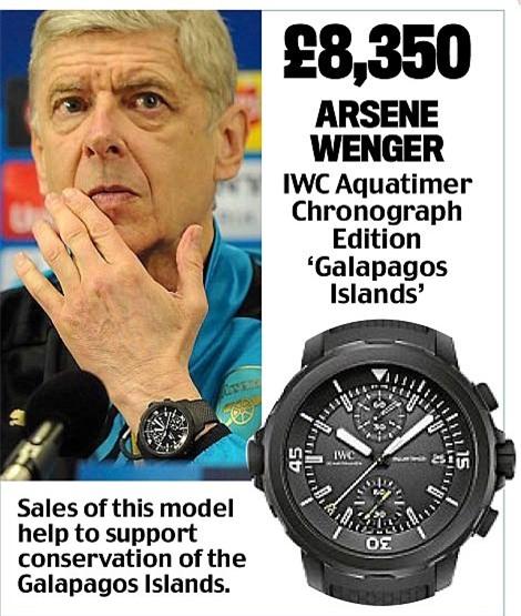 Khám phá đồng hồ đeo tay của HLV Ngoại hạng Anh - Ảnh 11.