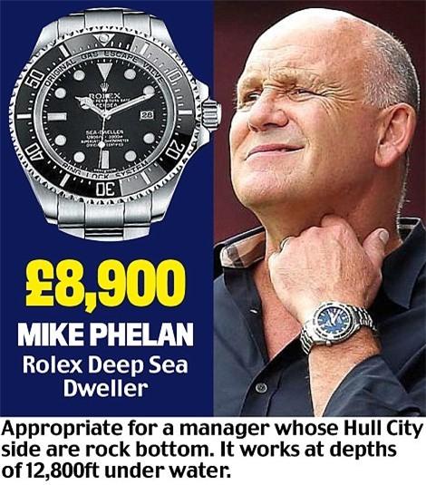 Khám phá đồng hồ đeo tay của HLV Ngoại hạng Anh - Ảnh 13.