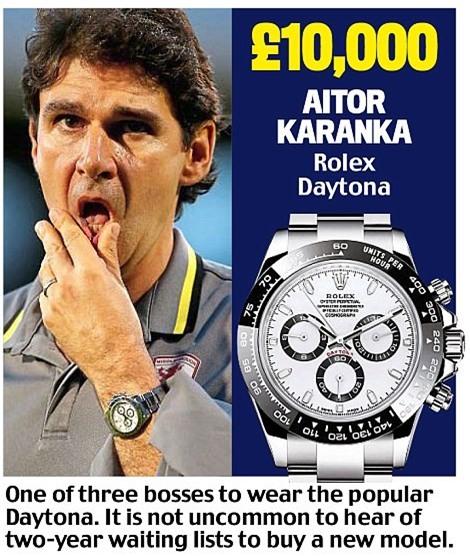 Khám phá đồng hồ đeo tay của HLV Ngoại hạng Anh - Ảnh 14.
