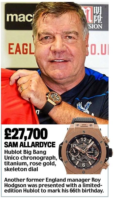 Khám phá đồng hồ đeo tay của HLV Ngoại hạng Anh - Ảnh 18.