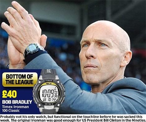 Khám phá đồng hồ đeo tay của HLV Ngoại hạng Anh - Ảnh 2.