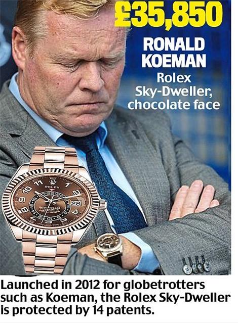 Khám phá đồng hồ đeo tay của HLV Ngoại hạng Anh - Ảnh 20.