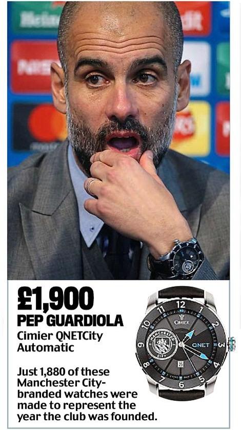 Khám phá đồng hồ đeo tay của HLV Ngoại hạng Anh - Ảnh 5.