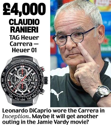 Khám phá đồng hồ đeo tay của HLV Ngoại hạng Anh - Ảnh 6.