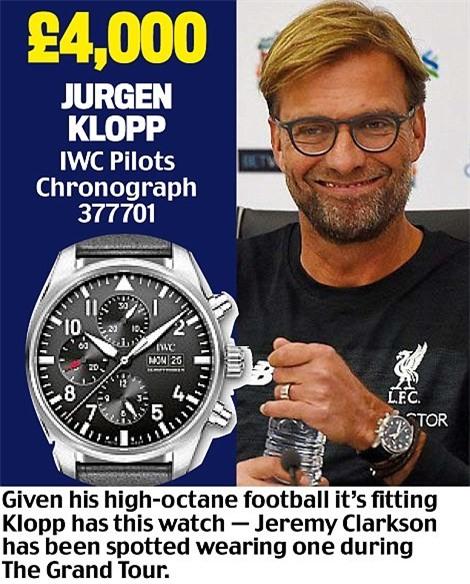 Khám phá đồng hồ đeo tay của HLV Ngoại hạng Anh - Ảnh 8.