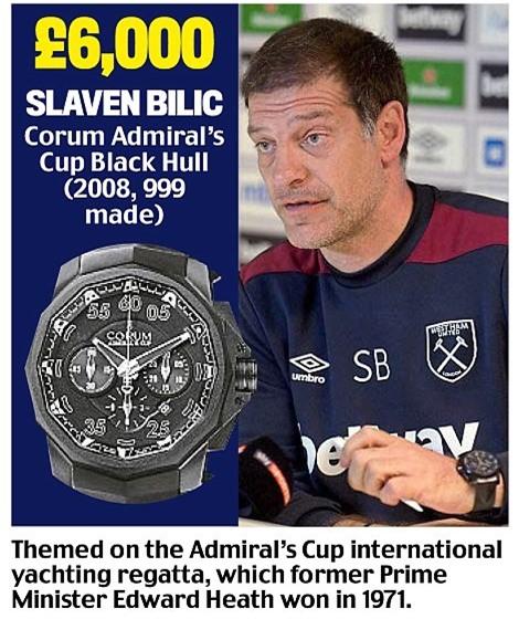 Khám phá đồng hồ đeo tay của HLV Ngoại hạng Anh - Ảnh 9.