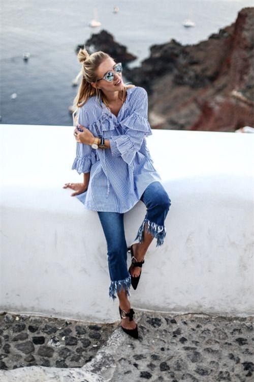 Những mẫu quần jeans sẽ làm mưa làm gió trong năm 2017 tới, bạn đã tìm hiểu chưa? - Ảnh 17.