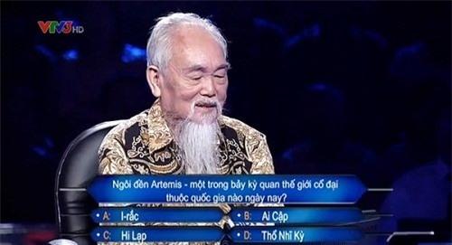 Cụ ông 78 tuổi kể chuyện tình yêu trên sóng 'Ai là triệu phú - Ảnh 2.