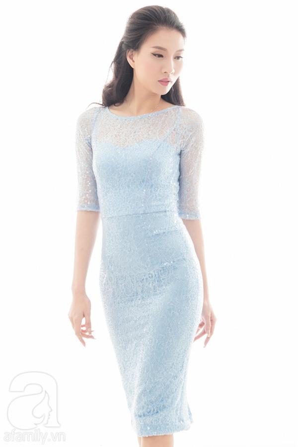 4 mẫu váy liền say lòng người ngắm giúp nàng tỏa sáng tại những buổi tiệc đầu năm mới - Ảnh 7.