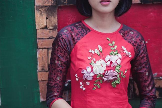 khong phai ao dai gam, ao dai theu ruy bang moi hot nhat tet nam nay - 2