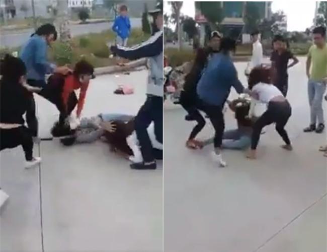 Ghen tuông, cô gái trẻ bị nhóm người đánh đập dã man ngay ngoài đường - Ảnh 2.