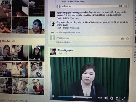 Nguyễn Thị Thắm nói lời xin lỗi trên trang Facebook cá nhân của mình