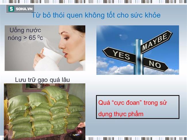 Tài liệu hướng dẫn cách ăn uống phòng chống ung thư [BS Trần Thị Anh Tường, BV Ung bướu TP.HCM] - Ảnh 26.