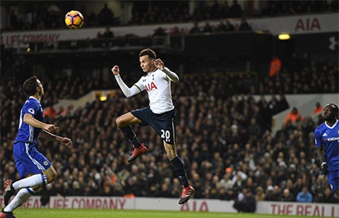 ... thi Alli mở tỷ số cho Tottenham